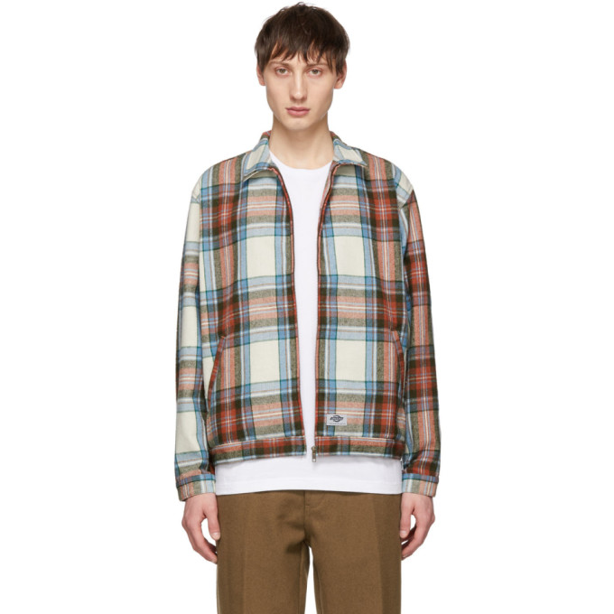Image of Dickies Construct Multicolor Plaid Flannel Baracuda Jacket