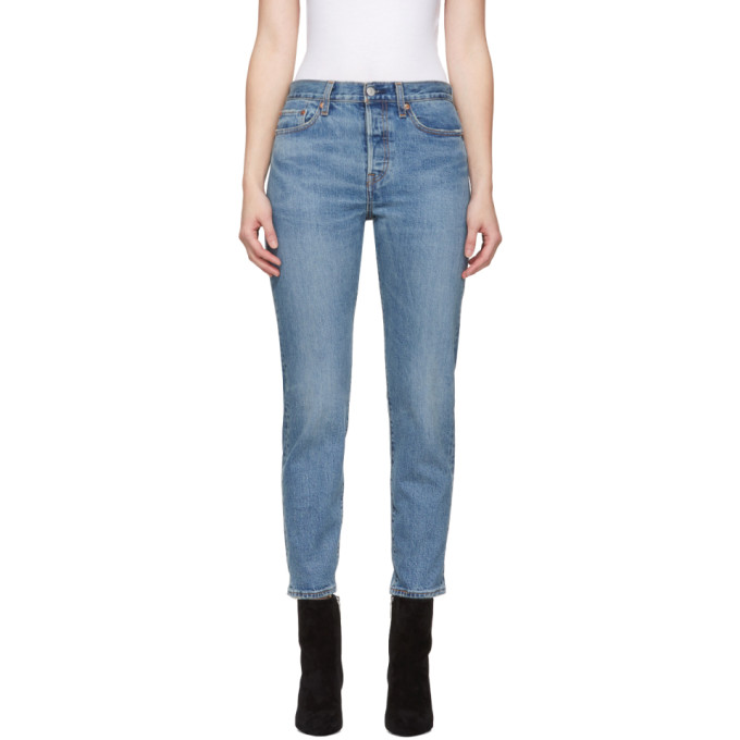 Levis Indigo Wedgie Icon Fit Jeans in These Dream