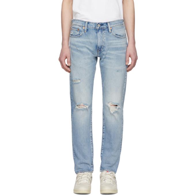 Levis Blue Hi Ball Jeans 191099M18601601