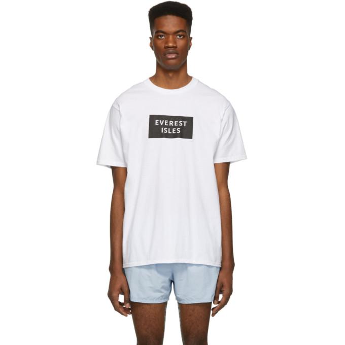 Everest Isles T-shirt a logo blanc