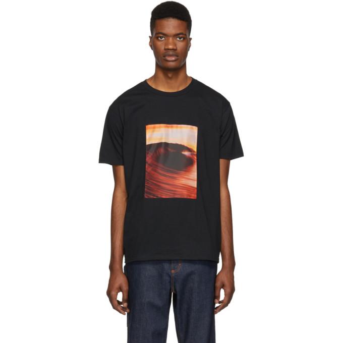 Everest Isles T-shirt noir 1992 Wave