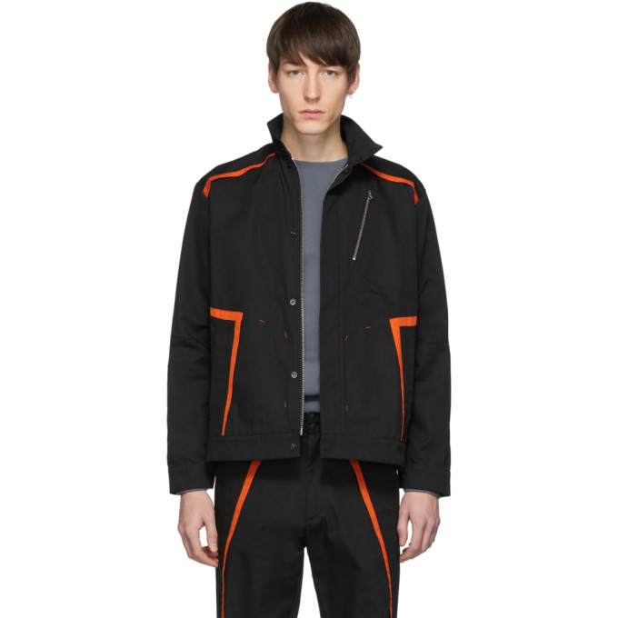 Image of Affix Black Public Service Jacket