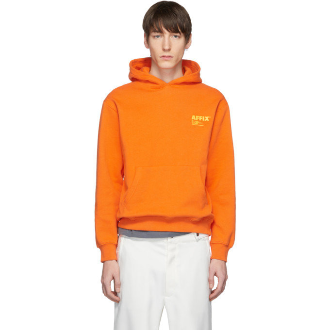 Affix Pull a capuche et logo orange Standardize