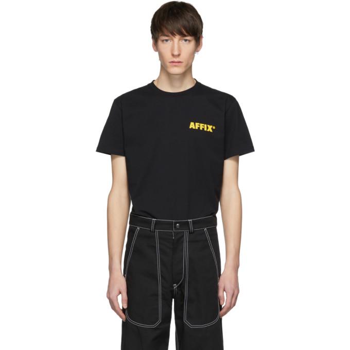 Affix T-shirt noir et jaune EBS Purge