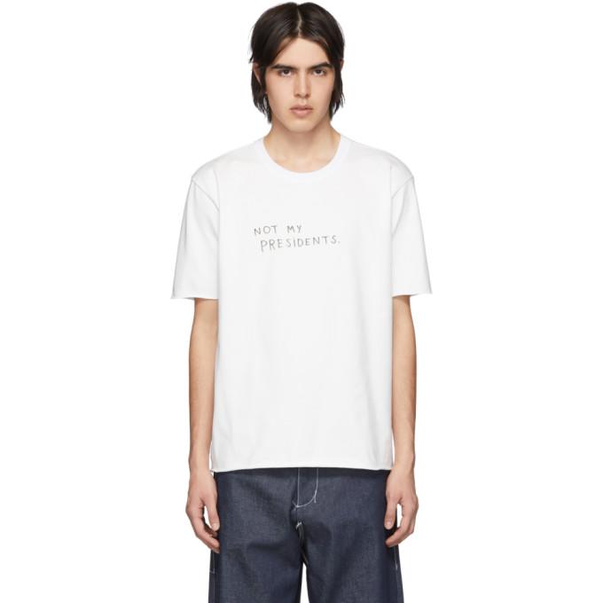 Camiel Fortgens T-shirt blanc Protest