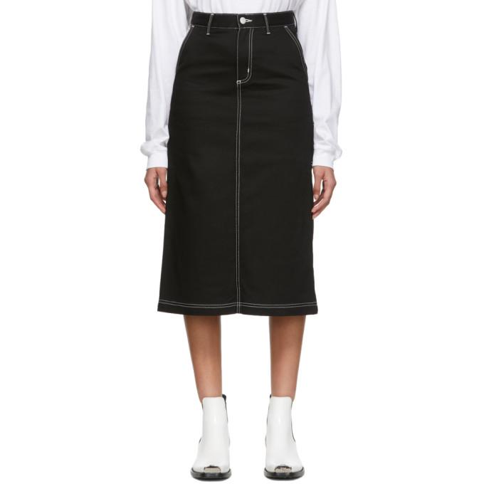 CARHARTT | Carhartt Work In Progress Black Pierce Skirt | Goxip