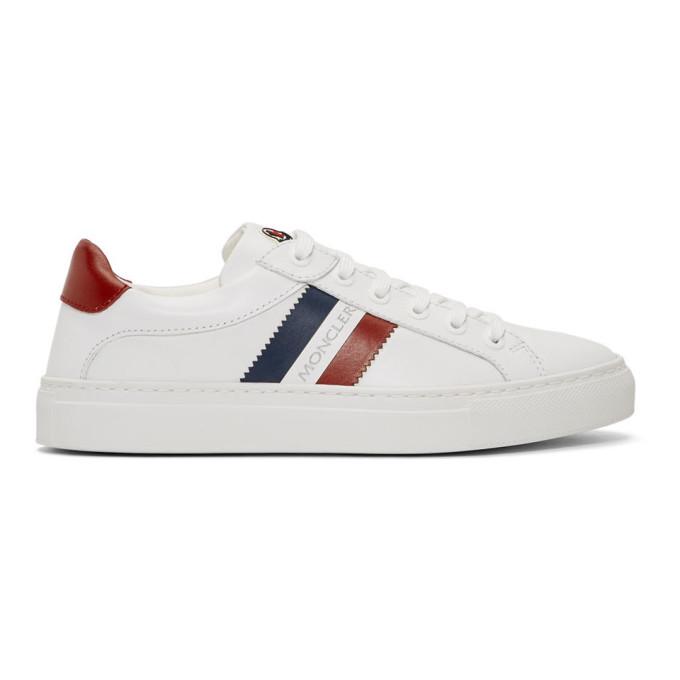 Moncler White New Leni Sneakers