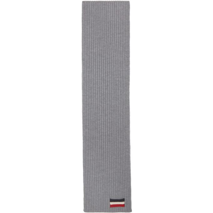 Moncler Foulard gris Tricot
