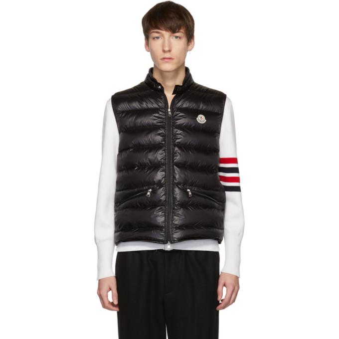 3ad677260 Moncler Black Down Gui Vest
