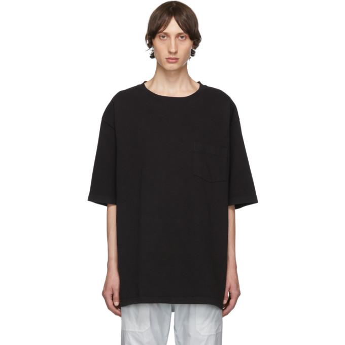 Warren Lotas T-shirt noir Montreal exclusif a SSENSE