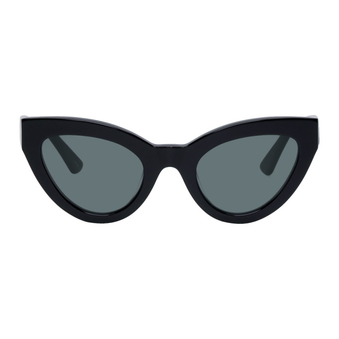 McQ Alexander McQueen Black Cult Cat-Eye Sunglasses