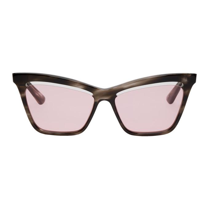 McQ Alexander McQueen Tortoiseshell Iconic Sunglasses