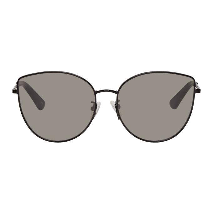 McQ Alexander McQueen Black Discord Sunglasses