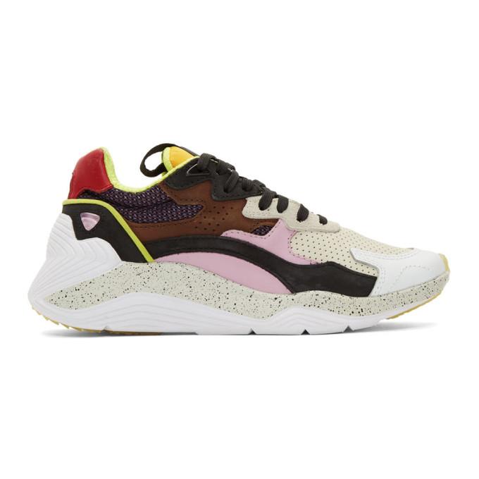 McQ Alexander McQueen Tan & Pink Daku Sneakers