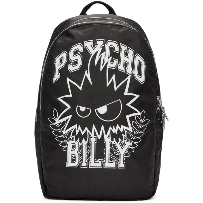 McQ Alexander McQueen Black 'Psycho Billy' Backpack