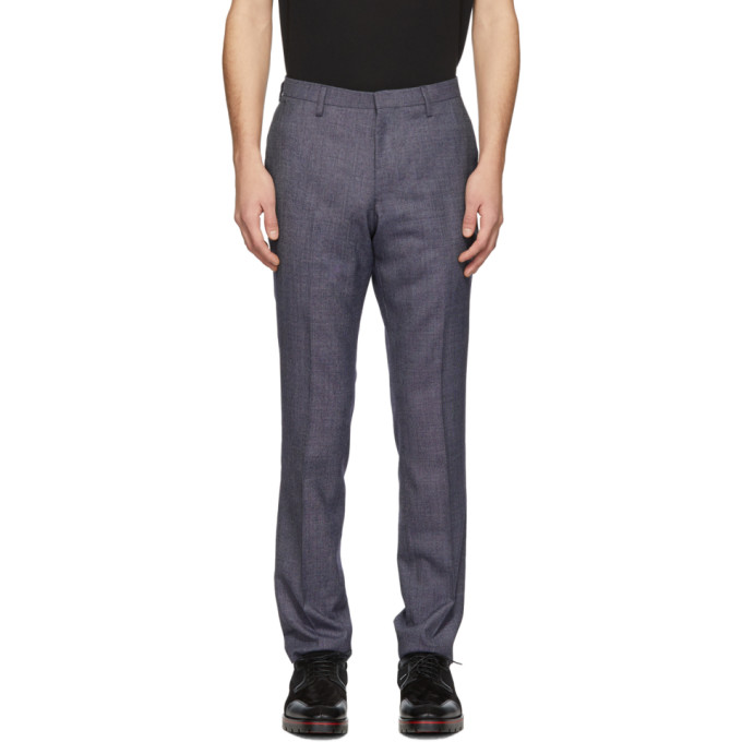 Image of Tiger of Sweden Blue Talthe Trousers