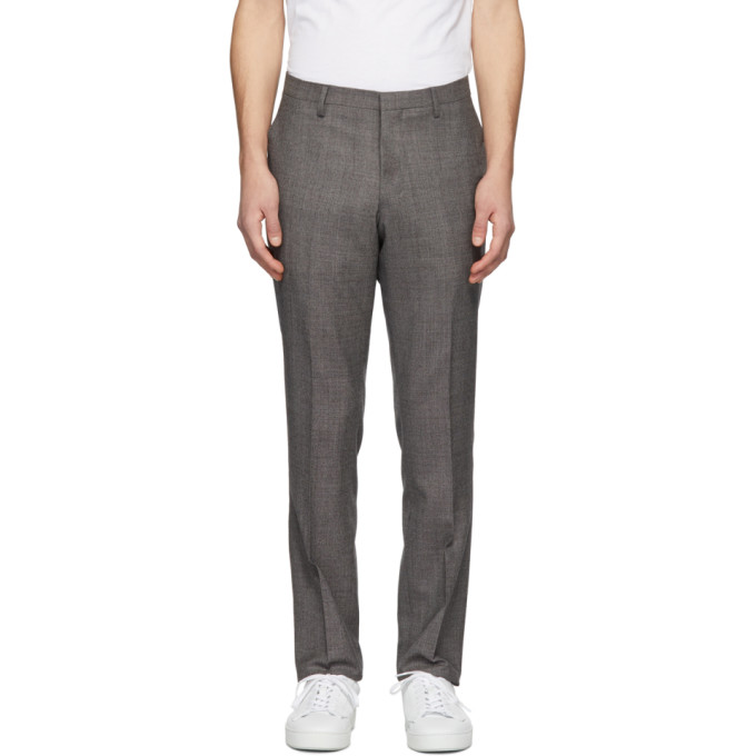 Image of Tiger of Sweden Brown Talthe Trousers