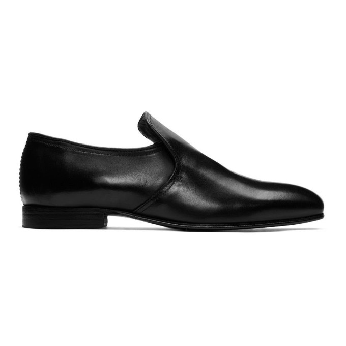 professional sale new cheap coupon code Tiger of Sweden Black Solen Loafers 191115M23100103