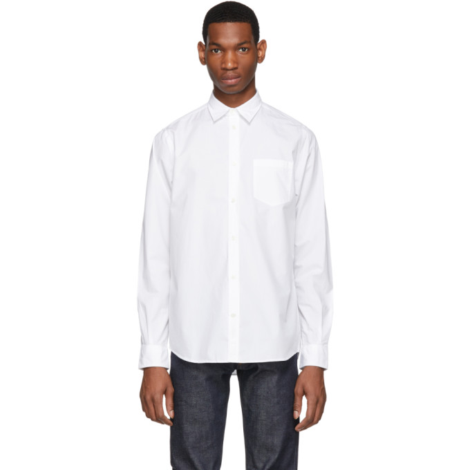 Norse Projects Chemise blanche Anton Classic