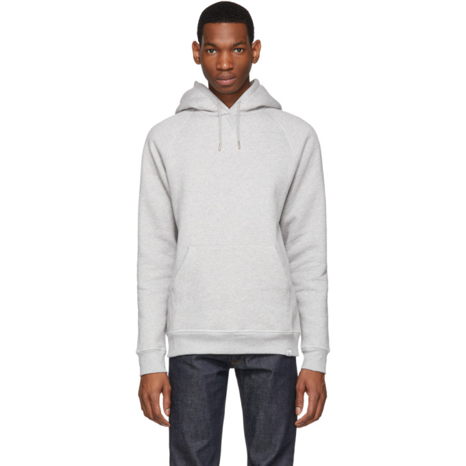Norse Projects グレー Ketel クラシック フーディ