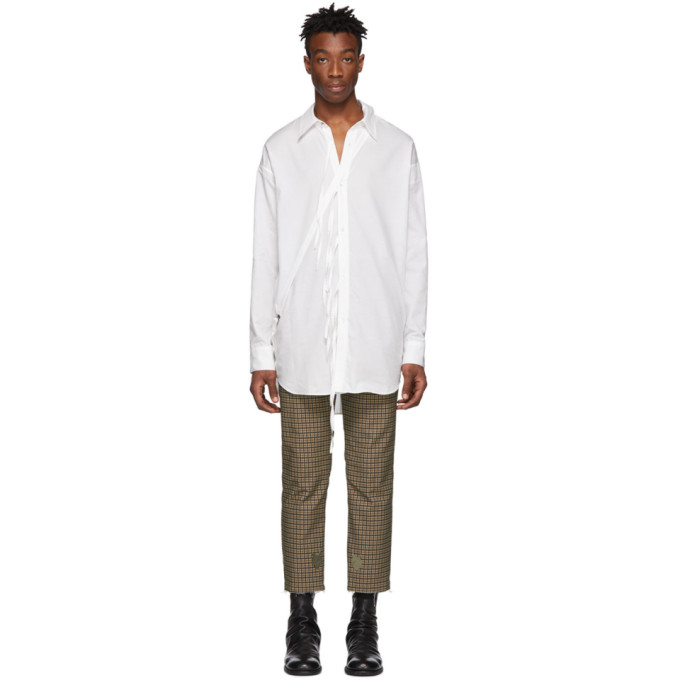 BED J.W. FORD Bed J.W. Ford White Ribbon Shirt