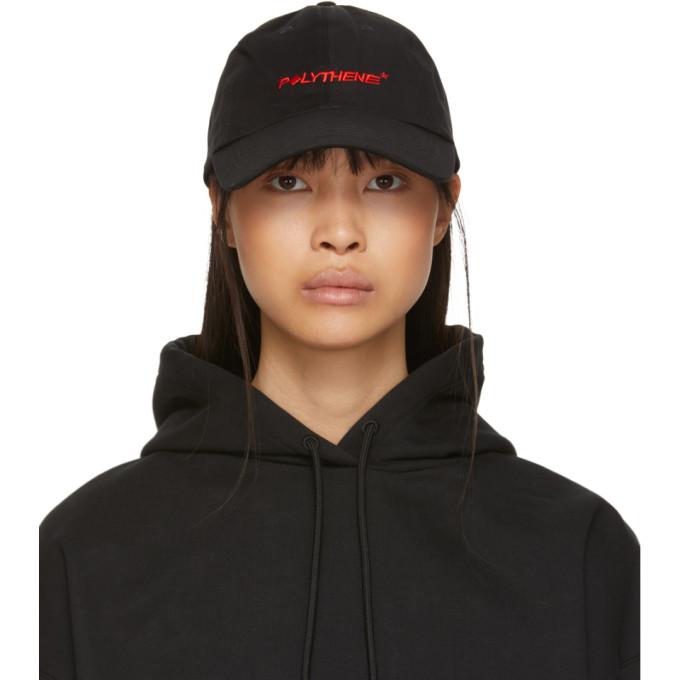 Polythene* Optics Casquette a logo noire