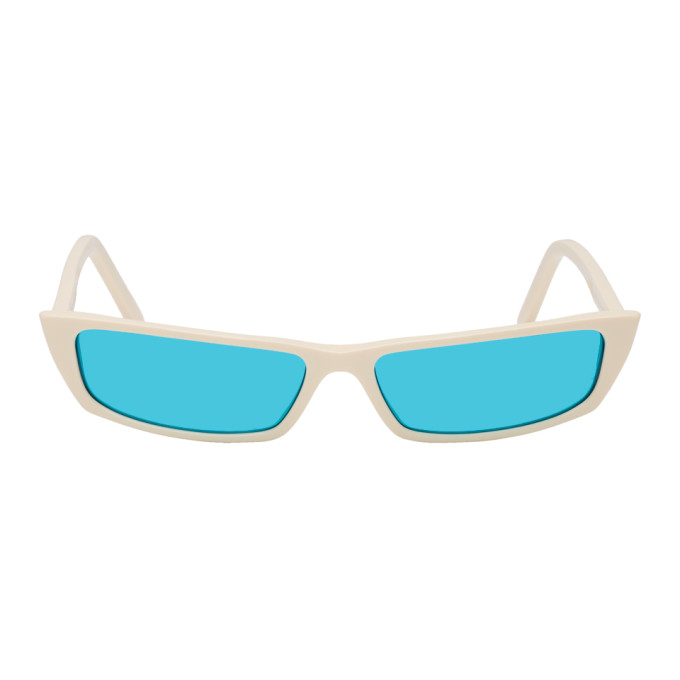 Acne Studios Off White Agar Sunglasses