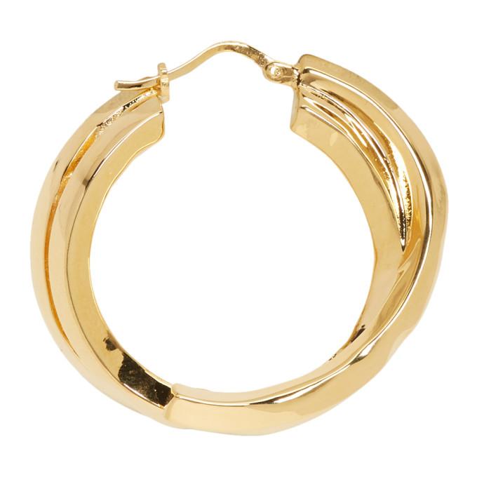 Acne Studios Gold Single Alana Earring