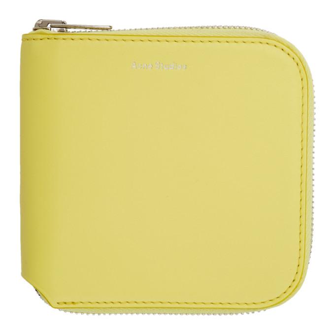 Acne Studios Yellow Csarite Wallet