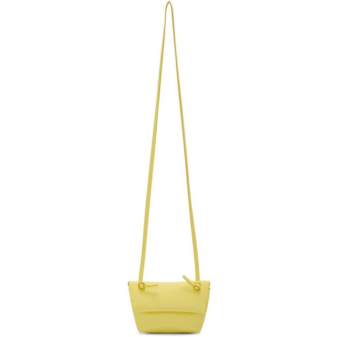 Acne Studios Yellow Mini Musubi Pouch