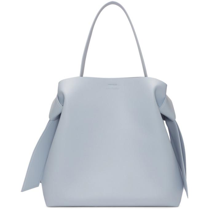 Acne Studios Blue Maxi Musubi Bag