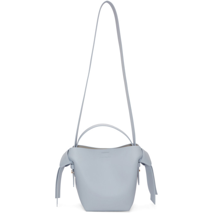Acne Studios Blue Mini Musubi Bag