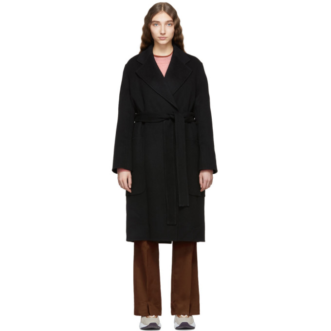 Acne Studios Black Carice Double Coat thumbnail