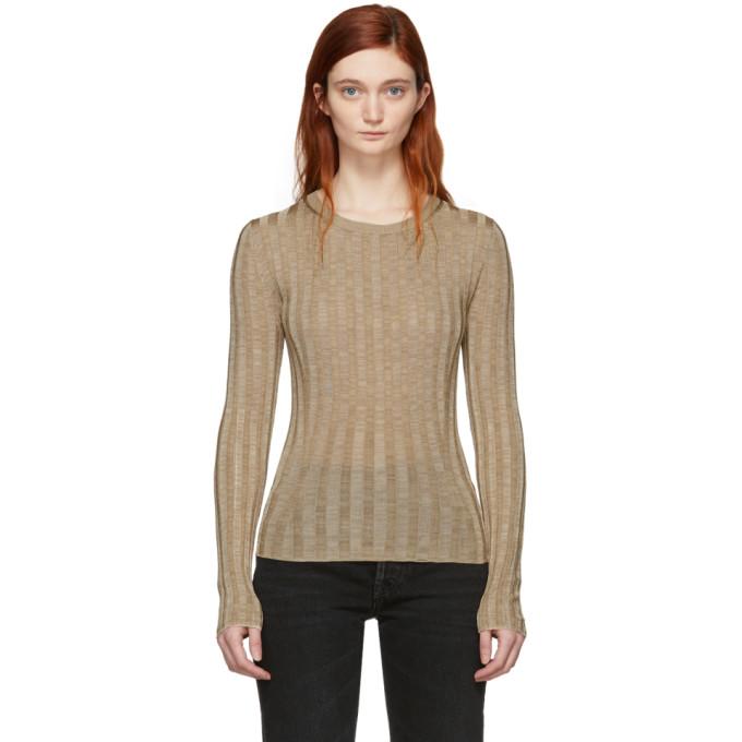 Acne Studios Beige Sitha Sweater