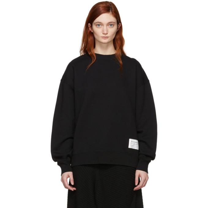 Acne Studios Black Fyona Sweatshirt