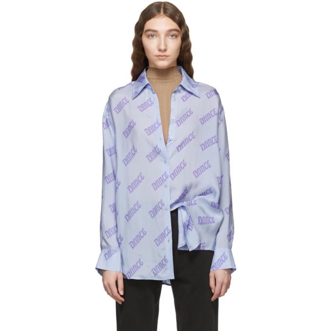 Acne Studios Blue Selma Shirt