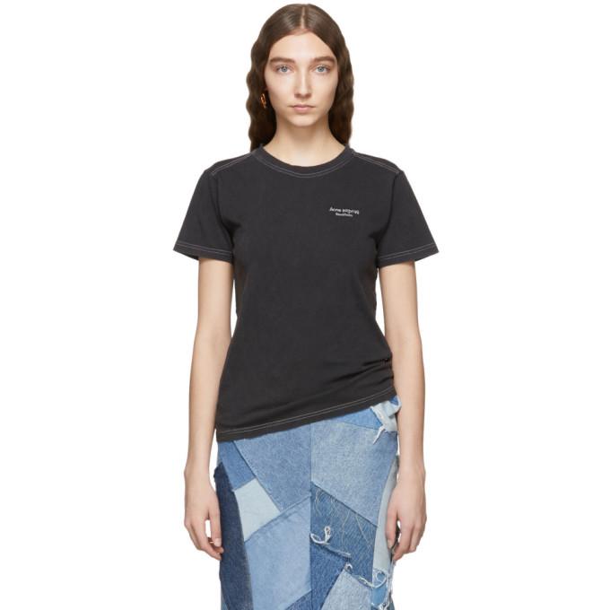 Acne Studios Black Wanda T Shirt