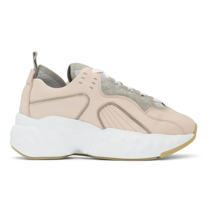 Acne StudiosPink Manhattan Sneakers