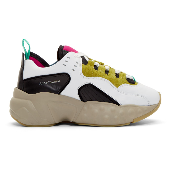 Acne StudiosMulticolor Nappa Manhattan Sneakers