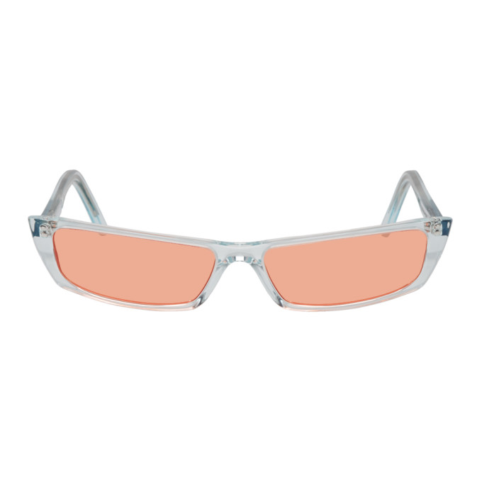Acne Studios Blue and Orange Agar Sunglasses