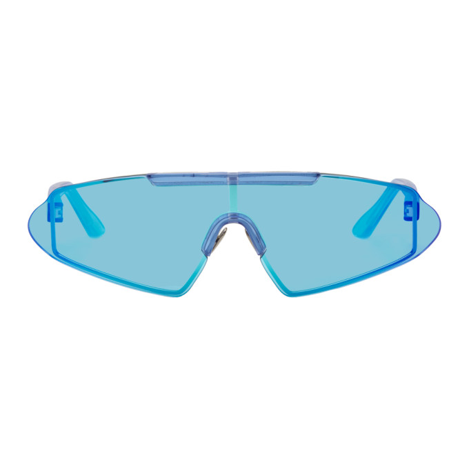 Acne Studios Blue Bornt Sunglasses