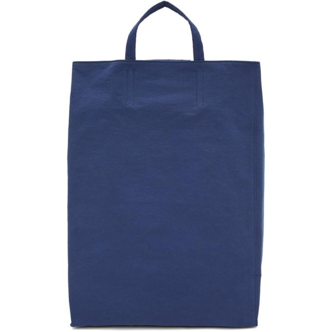Canvas Baker Tote Bag in Electricblu