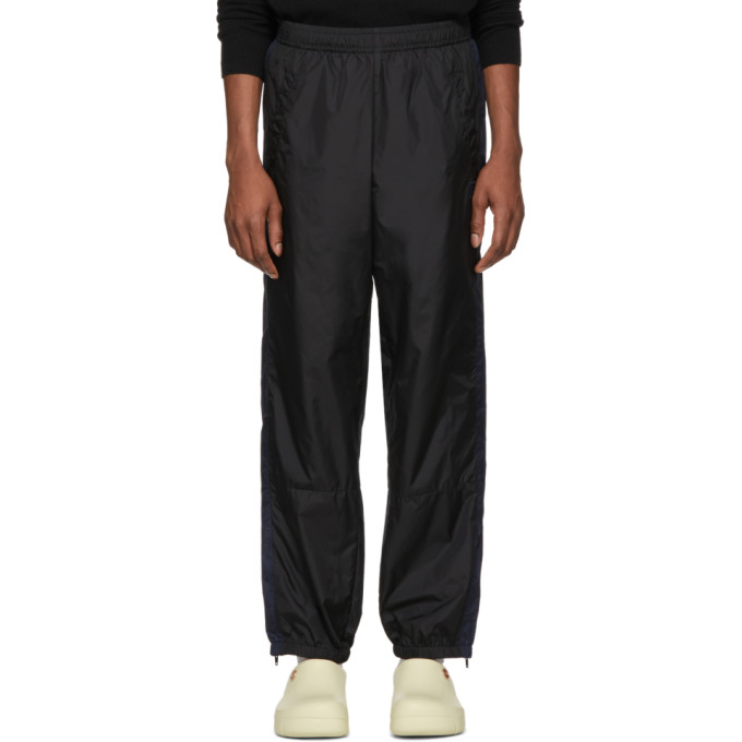 Acne Studios Black Nylon Track Pants