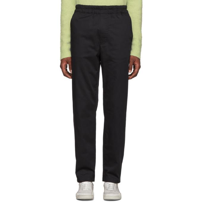 Acne Studios Black Paco Sporty Trousers