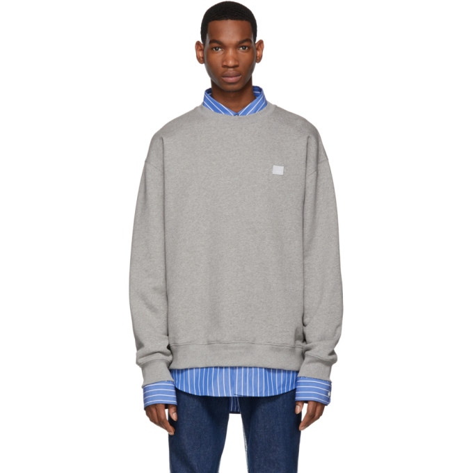 Forba Face Sweatshirt in Lightgrey