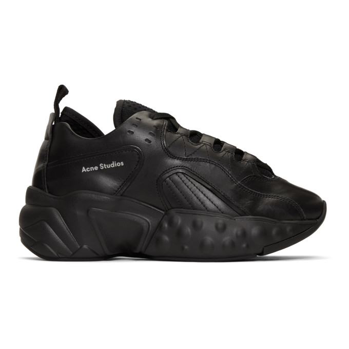 Acne Studios Black Rockaway Sneakers
