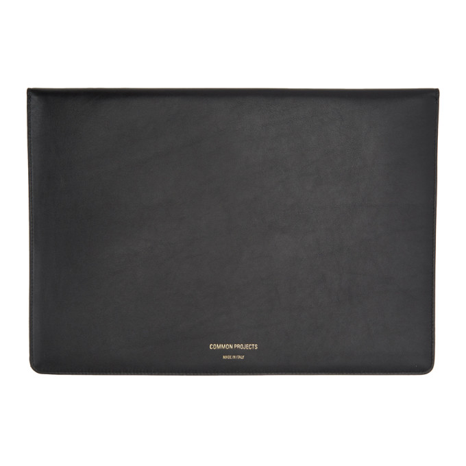 Image of Common Projects Black Dossier Pouch