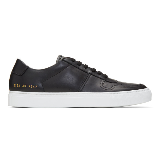 Image of Common Projects Black BBall Low Sneakers