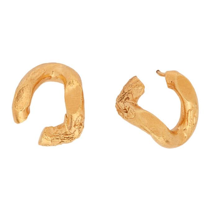 Alighieri Accessories ALIGHIERI GOLD THE FLASHBACK EARRINGS