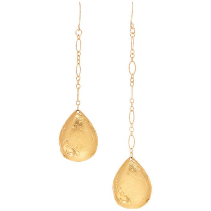 Alighieri Gold 'The Trace of a Tear' Earrings